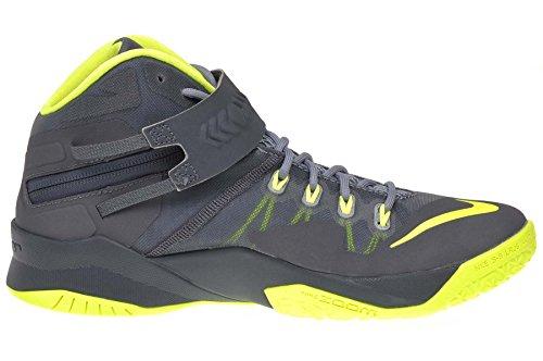Nike Mens Zoom Soldier Viii Prm Pallina Scarpa Magnete Grigio / Grigio Scuro Volt-dark