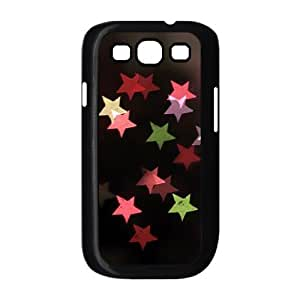Brilliant stars Custom Cover Case with Hard Shell Protection for Samsung Galaxy S3 I9300 Case lxa#463758