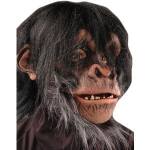 Zagone Studios Men's Super Action Chimp , Brown, Adult One Size