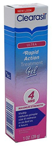 Clearasil Ultra Rapid Action Vanishing Treatment Gel, 1 oz. (Pack of 3) Action Rescue Gel Treatment
