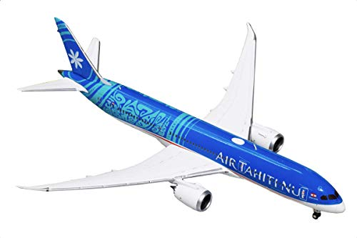 GeminiJets GJTHT1782 Air Tahiti NUI B787-9 Dreamliner F-Onui 1: 400 Scale Diecast Model Airplane, Blue (Gemini Jets Air)