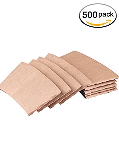 springpack Protective Corrugated Coffee Cup Sleeves For 12oz 16 oz 20 Ounce,50 Count (500)