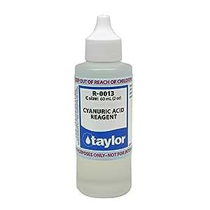Taylor Reagent R 0013 C Cyanuric Acid 2 Ounce Patio Lawn Garden