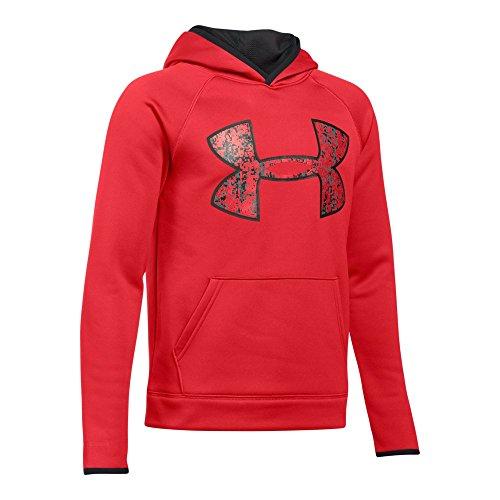 Red Big Logo Hoodie - 3