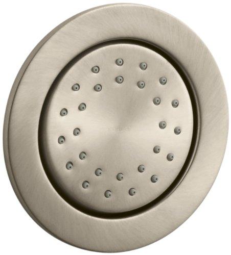 Kohler K-8013-BV WaterTile Round 27-Nozzle Body Spray, Vibrant Brushed Bronze