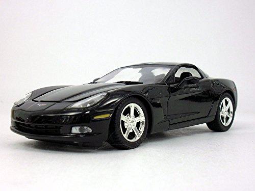 Motormax Chevrolet Corvette C6 (2005) 1/24 Scale Diecast Metal Model - Black ()