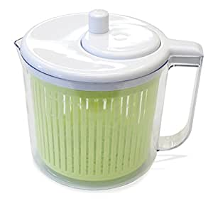 The Sharper Image® Single Serving Salad Spinner with Measuring Cup (2.5 Quart)