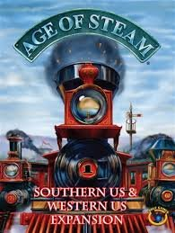 Age Of Steam Southern Us & Western Us Expansion