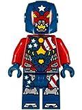 LEGO Justin Hammer Minifigure - Detroit Steel Armor 2017