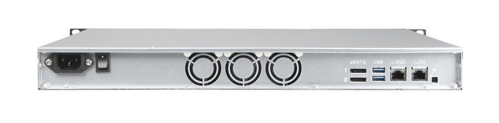 NETGEAR RR2304G2-100NES ReadyNAS 2304 Diskless Network Attached Storage Dual Gigabit Ethernet Rackmount 1U 4 Bay 4 x 2TB Black