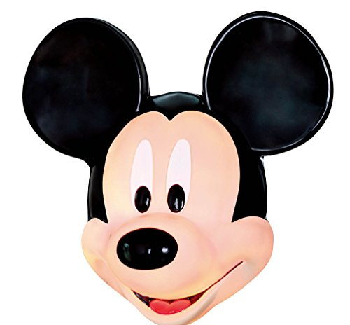 Seasons 18198 Disney Mickey Mouse Porch Light Cover/Wall Decoration, One-Size, Black/Brown