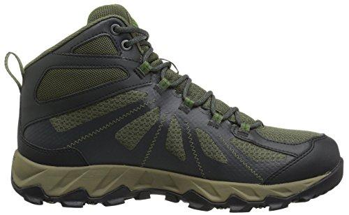 Columbia Hommes Peakfreak Xcrsn Ii Xcel Mid Outdry Chaussures De Randonnée Nori, Backcountry Sombre