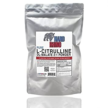 L-Citrulline DL-Malate 2 1 Powder. 500G by Hard Rhino