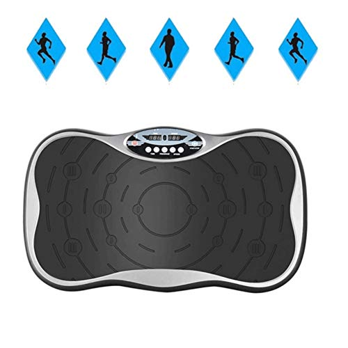 SVNA Fitness Vibration Platform Vibrating Plate Exercise Machine is Suitable for Massage and Exercise Body Fat Reduction Training,Black by SVNA (Image #5)
