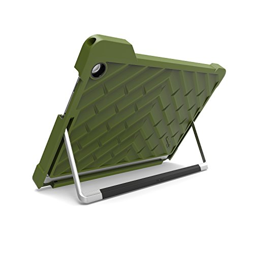 Gumdrop Cases Droptech for Acer Aspire Switch Alpha 12 SA5-271 Rugged 2-in-1 Tablet Case Shock Absorbing Cover, Army Green / Black