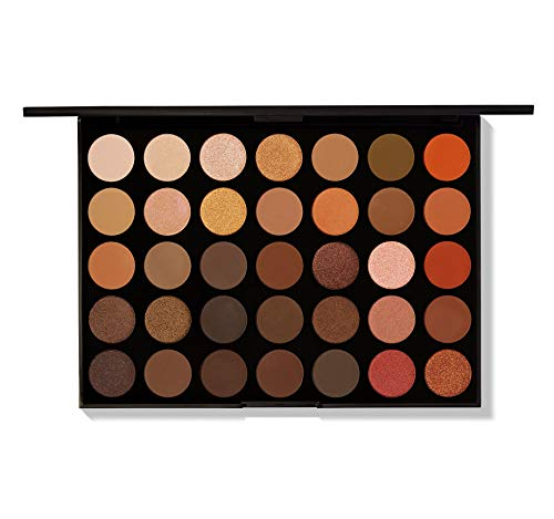 Morphe Brushes 350 – 35 Color Nature Glow Eyeshadow Palette by Morphe Brushes