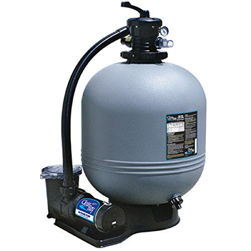 (Waterway CI52253876S 22 in. Sand Filter System 2 HP Dual Speed Pump)