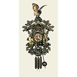 Original Eight Day Movement Special Cuckoo Clock with Beautiful Carving 41 Inch