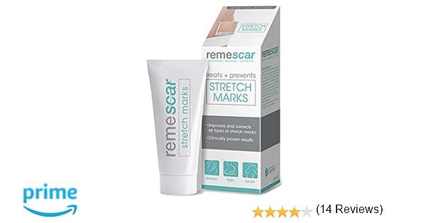 Remescar - Tratamiento de las estrías - Crema para las estrías - Prevención y reducción de las estrías clínicamente probada, para los muslos y otras ...