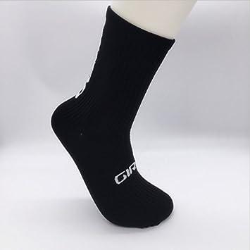 Bicilceta de hombre de calidad profesional deportes Calcetines para pies, transpirable Núcleo, el sudor de bicicleta absorbido de calcetines, ...