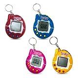 KOBWA Tamagachi Virtual Pet, 90s Nostalgic Cute Original Electronic Game Machine, Kids Toys Digital Pets Keychain Gift for Boys and Girls, 1PCS (Random Color)