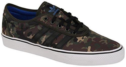 adidas Adi-Ease Sneakers Night Cargo/Core Black/Footwear White Mens 12.5