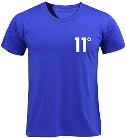 YKDDJJ Cómoda Camiseta Blanca de 11 Grados con Estampado de ...