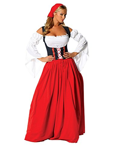 Swiss Miss Adult Costumes - Swiss Miss Adult Costume -