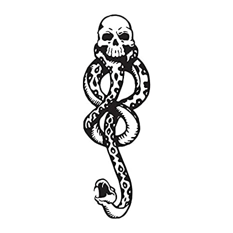 Amazon Harry Potter Death Eaters Dark Mark Temporary Tattoos 10pcs For Cosplay Accessories And Dancing Party Beauty