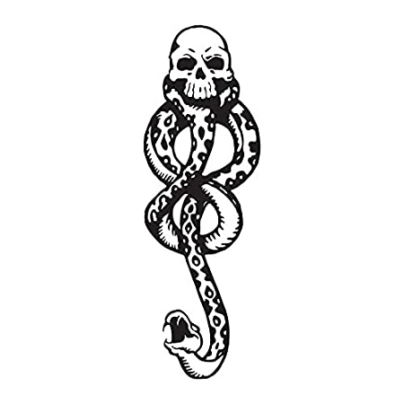 Amazon Harry Potter Death Eaters Dark Mark Tattoos For Cosplay