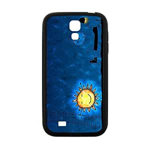 Cute Night Sun Brand New And Custom Hard Case Cover Protector For Samsung Galaxy S4