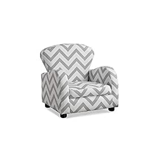 Amazon.com: Monarch sillón infantil, Tela, Gris ...