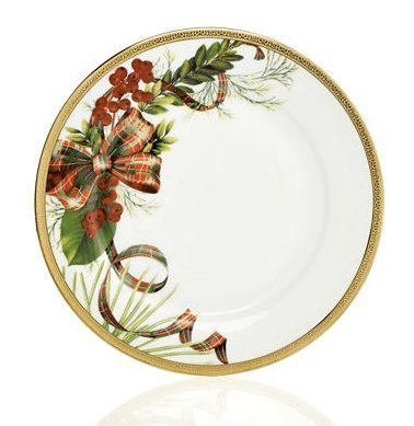 Charter Club Tartan Accent Plate (Only at Macy's)