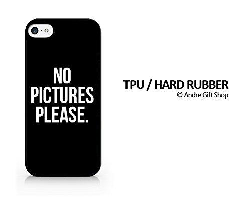 Amazoncom Tpurubber Black Case No Picture Please No Selfie