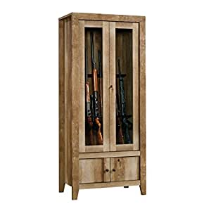 Amazon Com Sauder 419440 Dakota Pass Gun Cabinet