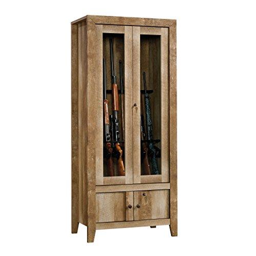 Sauder 419440 Dakota Pass Gun Cabinet, Craftsman Oak by Sauder