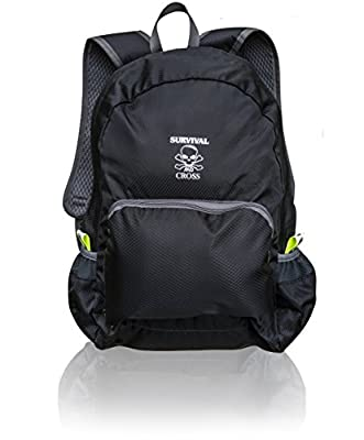 Ultra Lightweight 20L Packable Daypack Hiking Backpack - Travel Pack Backpacks Most Durable for Men and Women - Best Outdoors Camping Water Resistance Lite Folding Bag - Survival and Cross