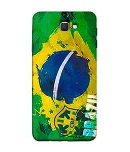 ColorKing Football Brazil 19 Multi Color shell case cover for Samsung J5 Prime