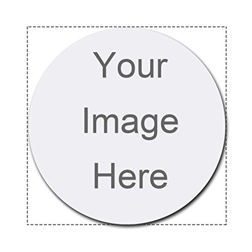 Custom Personalized 8'' Round Mousepad Design Your Own Mouse Pad With Your Favorite Photo or Message