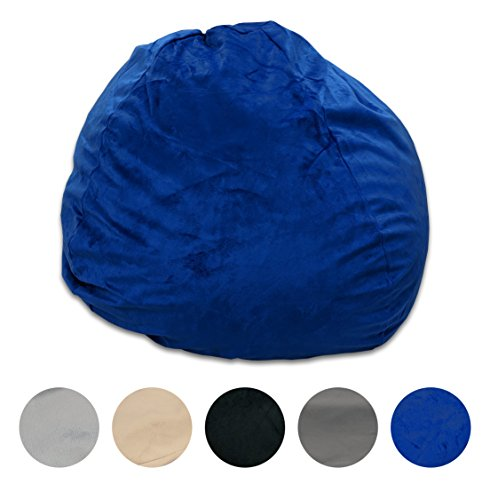 Pillowtex Quality Kids Memory Foam Bean Bag Chair - 3ft Bags with Removable Washable Cover (Best Quality Bean Bags)