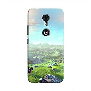 Cover It Up - Rolling hills Gionee A1 Hard case