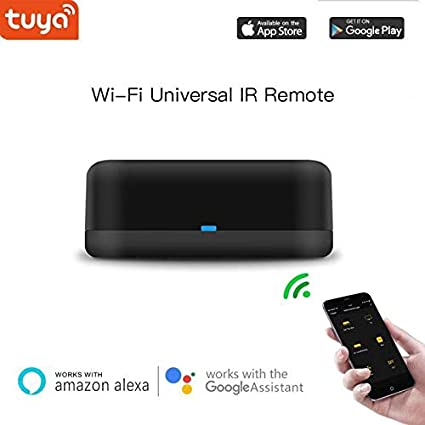 Smart Universal IR Remote with Type-C Hub, Alexa Voice Control AC, TV,Rm  mini remote controller Compatiable with Google Home, support IOS,Android