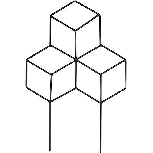 Creation Core 1Pcs Iron Lattice-Shaped DIY Garden Pot Climbing Trellis Plant Support Stakes Flower -