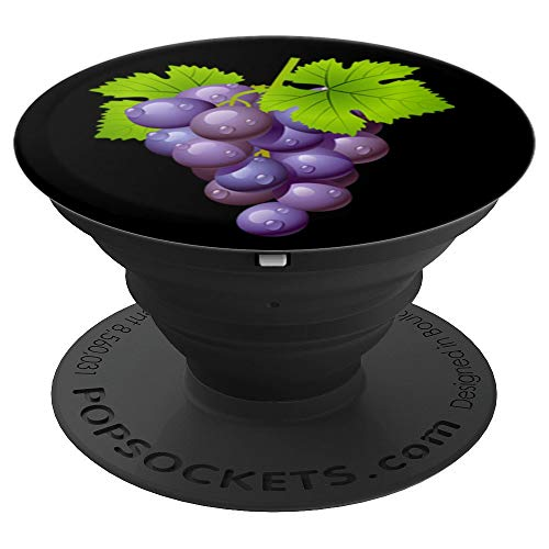 (Purple grapes - PopSockets Grip and Stand for Phones and)