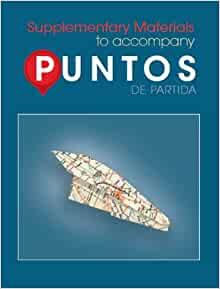 Amazon.com: Puntos de Partida: Supplementary Materials to