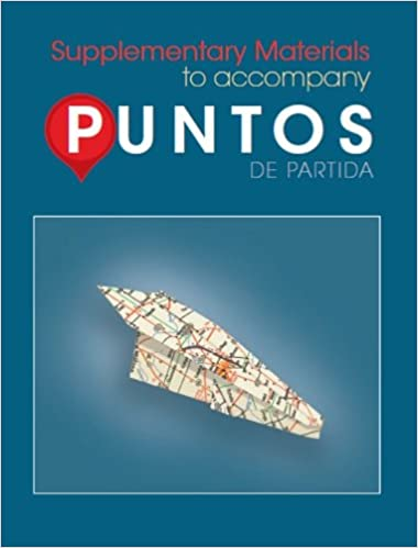 Amazon Com Puntos De Partida Supplementary Materials To Accompany 9780078040009 Foerster Sharon W Books