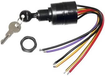[SCHEMATICS_48DE]  Amazon.com: Key Switch, Ignition 6 Wire Mercury: Sports & Outdoors | 1984 Mercury 35 Key Switch Wiring |  | Amazon.com