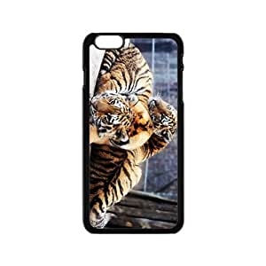 The Love Of Tiger Hight Quality Plastic Case for Iphone 6