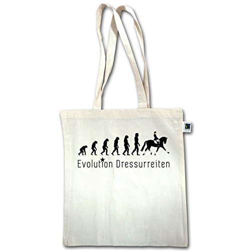 Evoluzione - Dressage Evolution - Unisize - Natural - Xt600 - Manico Lungo In Juta Bag
