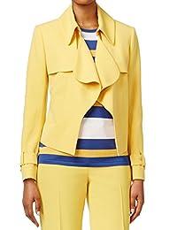 Anne Klein Womens Hook/Eye Front Long Sleeves Blazer